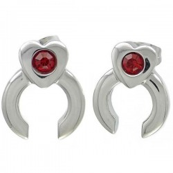 Anting Red Heart