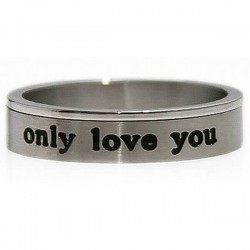 Cincin Unisex Only Love You Ring