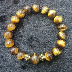 Gelang Kristal Yellow Tiger Eye