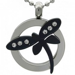 Kalung Animalia Black Dragonfly