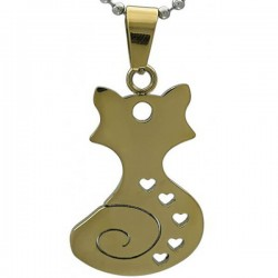 Kalung Animalia Catty Gold