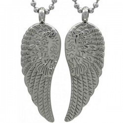 Kalung Couple Angel Wing