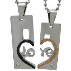 Kalung Couple Dinole