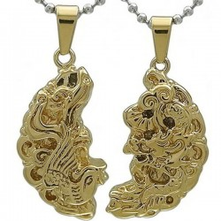 Kalung Couple Dragon Phoenix Reshaka