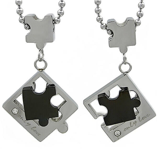 Kalung Couple Puzzle Pieces
