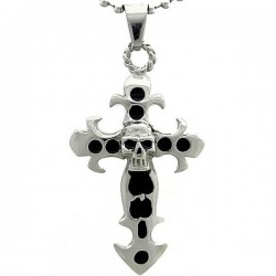 Kalung Gothic Black Gothic Cross