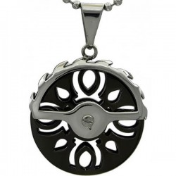 Kalung Gothic Black Wheel