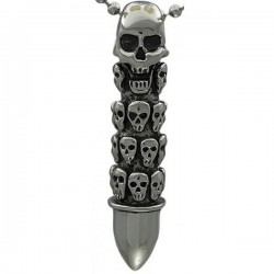 Kalung Gothic Grave Bullet