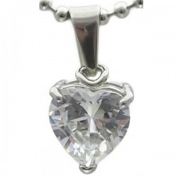 Kalung Diamond Love Shape