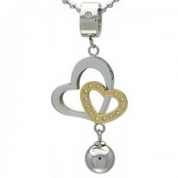Kalung Double Love Globe