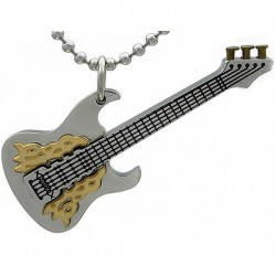Kalung Fire Guitar