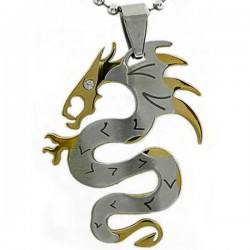 Kalung Naga Gold Dragon