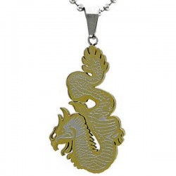 Kalung Naga Golden White Dragoner
