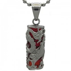 Kalung Naga Red Dragon Pillar