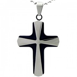 Kalung Salib Black Sombra Cross