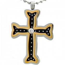 Kalung Salib Bone Cross