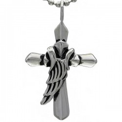 Kalung Salib Broken Wing Cross