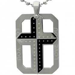 Kalung Salib Love U Cross
