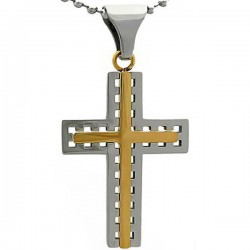 Kalung Salib Wicker Cross