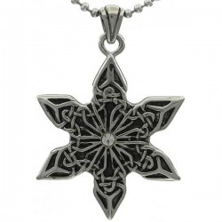 Kalung Leaf David Star