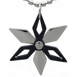 Kalung Black Shuriken